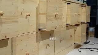 Lemari Penyimpanan Berkas | Pinewood | Jati Belanda