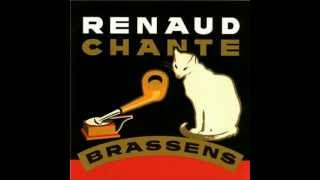Renaud chante Brassens  : Comme hier