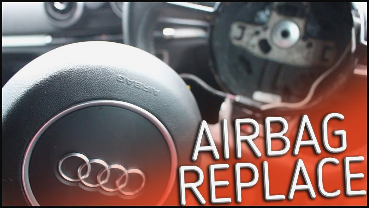 audi a3 8v 2013 remove install airbag youtube