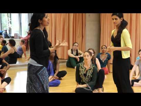 Shakti Mohan Dance workshop Triwat Dance School PARIS