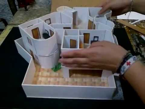 Maqueta casa de 2 pisos youtube - Home by me ...
