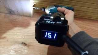 マキタ充電インパクトTD131を100V電源で動かす 18V編