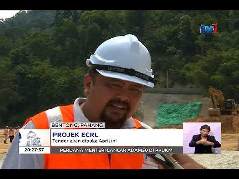 ECRL: TENDER PROJEK LALUAN REL PANTAI TIMUR DIBUKA BERMULA APRIL 2018 [22 FEB 2018]
