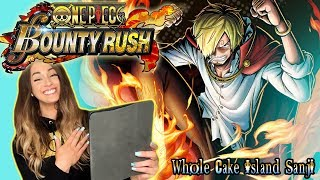 SANJI~SAN ❤️ One Piece Bounty Rush WHOLE CAKE ISLAND SANJI SUMMON + GAMEPLAY!