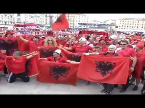 EURO 2016 - FRANCE-ALBANIA FANS (15.06.2016)