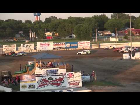 IMCA Sport Mod feature Independence Motor Speedway 6/18/16