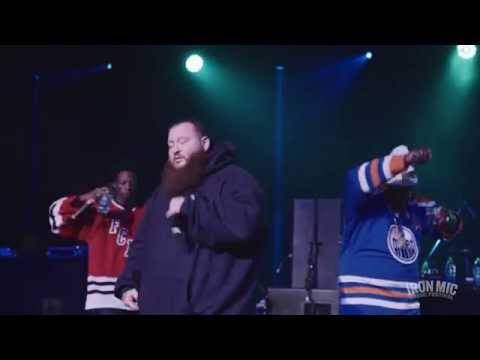 ACTION BRONSON, JOEY BADA$$ & SMOKE  DZA Live @ Iron Mic 2014