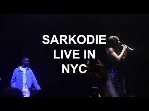 Efya Ft. Sarkodie - Jorley (Live in NYC)