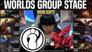 IG vs AHQ Highlights Worlds 2019 Group Stage Day 1 - Invictus Gaming vs AHQ Esports Highlights