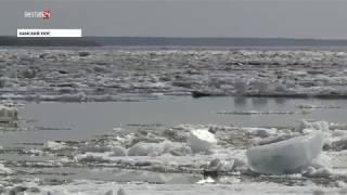 Активная фаза ледохода на Лене проходит в Кобяйском и Намском районах Якутии