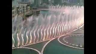 Burj Khalifa Water dancing show