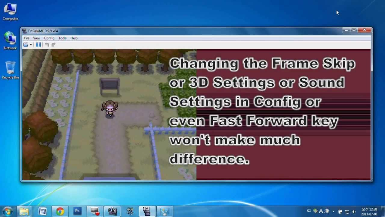 ds emulator with fast forward
