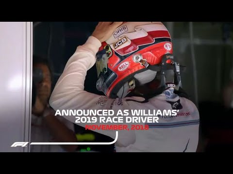 Officially F1 annouced Robert Kubica as Williams 2019 Race Driver