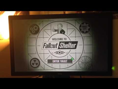 Fallout Shelter(Xbox One) - Crashing On Loading Vault - (No Game Audio) PLEASE HELP!!!