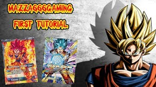 Dragon Ball Z Super TCG Online - Tutorial 1 - Super Saiyan God Sun Goku