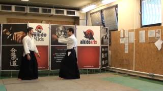 shomen uchi shihonage ura [TUTORIAL] Aikido basic technique