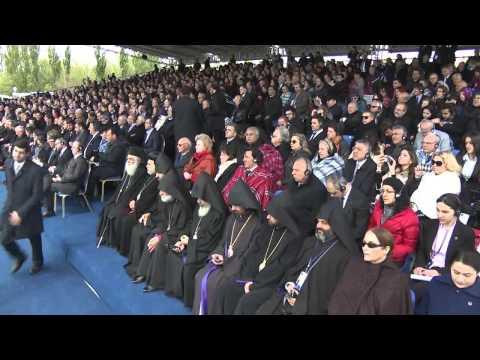 В.Путин. поминовение жертв геноцида армян. Ереван 24.04.2015