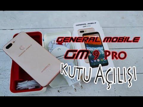 General Mobile GM 9 Pro kutu açılışı