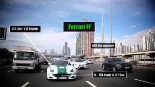 Полиция Дубая, шикарные тачки! Dubai police, luxury car!