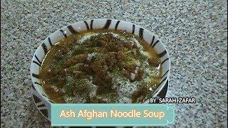 Ash {afghan Noodle Soup}