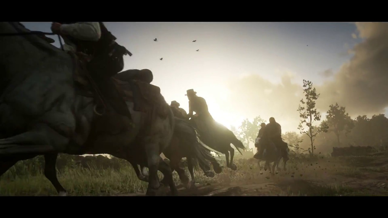 PS4《Red Dead Redemption 2》中文劇情預告
