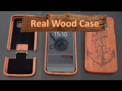 Real Natural Wood Case For The Samsung Galaxy S7 Edge
