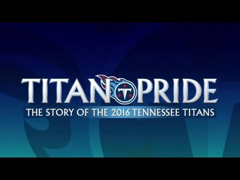 "2016 Tennessee Titans Yearbook ""Titan Pride"" NFL Films."