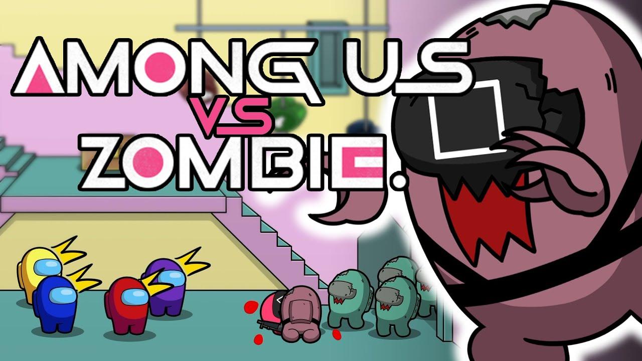 AMONG US VS SQUID GAME ZOMBIE 1
