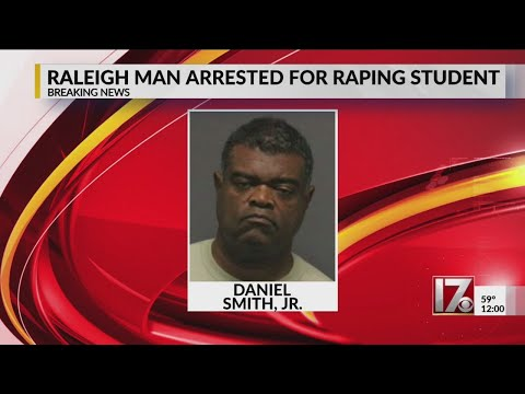 Raleigh man charged with raping student while teaching at Greensboro high school