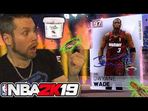 I ate ___ for Dwyane Wade NBA 2K19