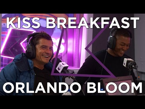 Orlando Bloom plays 'How Big Is It' & talks Miranda Kerr & Leonardo DiCaprio