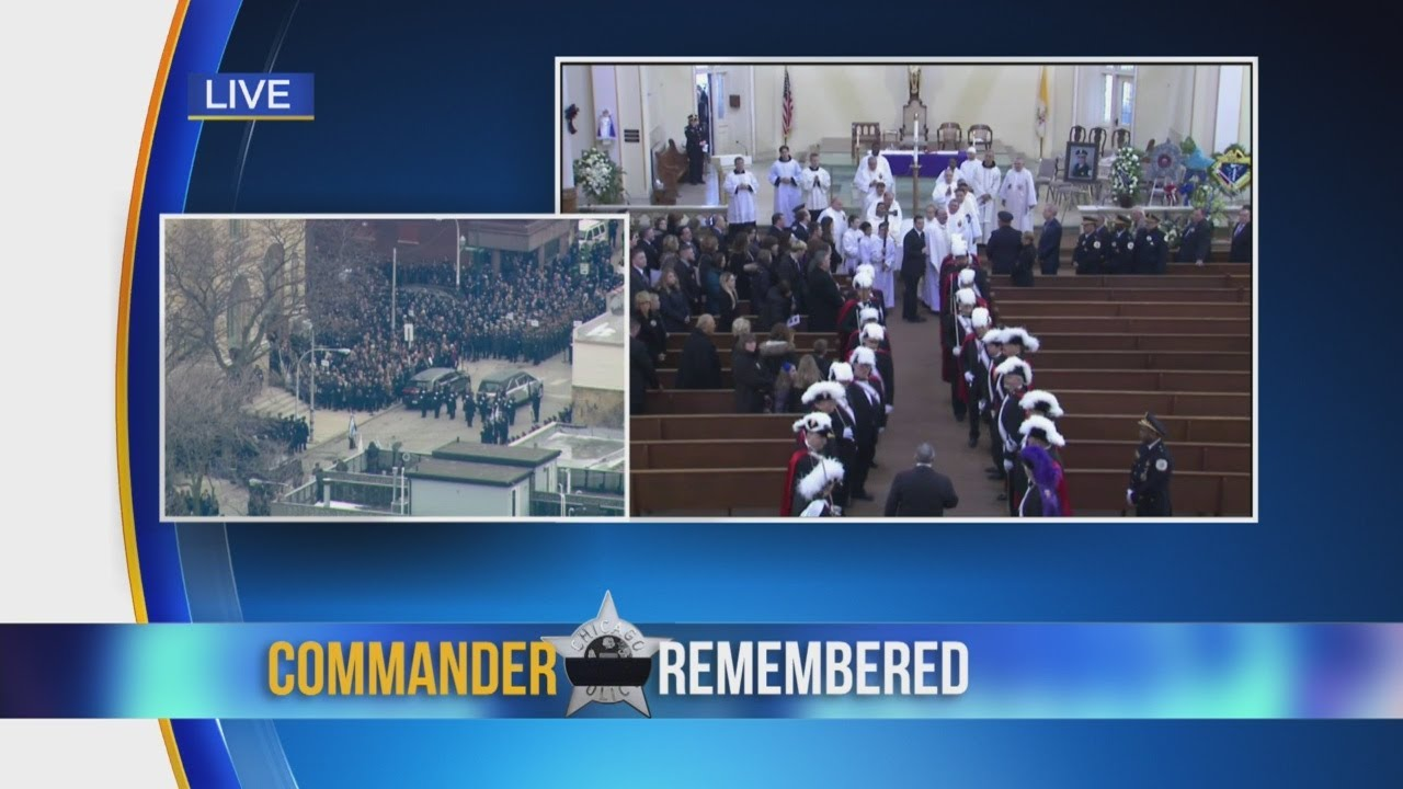 Funeral Mass For Commander Bauer