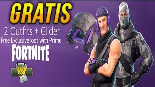 HOW TO GET FREE SKINS IN TWITCH PRIME FORTNITE BATTLE ROYALE PACK