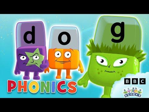 Phonics - Simple Spelling | Learn to Read | Alphablocks