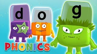 Phonics - Simple Spelling | Learn to Read | Alphablocks