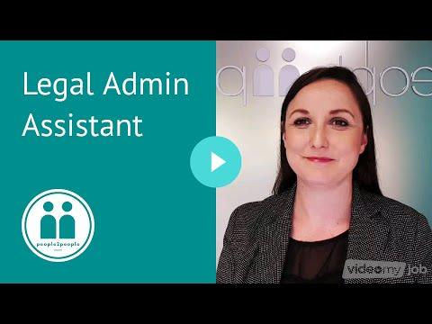 Legal Admin Assistant