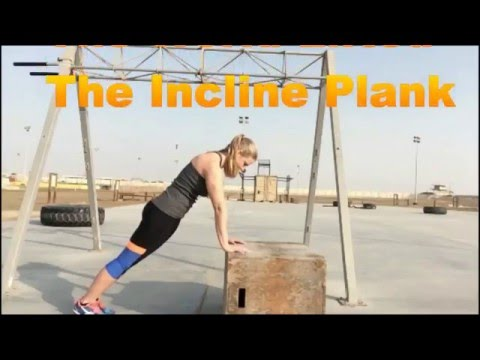 Incline plank