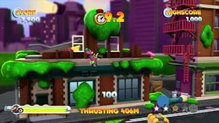 Jetpack Chimp - Joe Danger: The Movie Gameplay