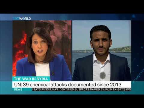 Syrian regime's chemical attacks constitute war crimes: UN