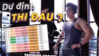 NGƯNG THI ĐẤU??| Push Day Voice Over| An Nguyen Fitness