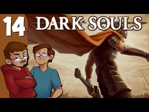 Let's Play | Dark Souls - Part 14 - Killing A Wibbly Wobbly