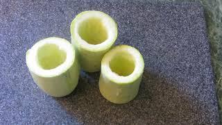 Кабачки, фаршированные овощами, запеченные в духовке