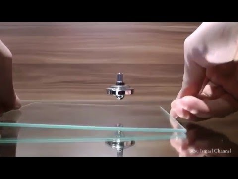 Flat earth levitation with Magnetism