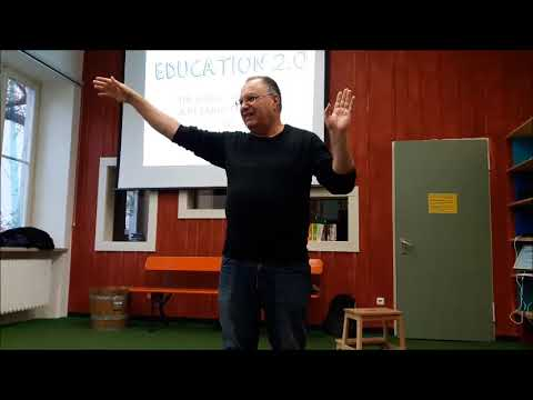 "YAACOV HEECHT AND DEMOCRATIC SCHOOLS (E PLUS PROJECT ""OWNING THE FUTURE"") PART 1"