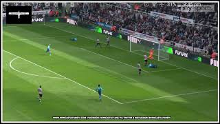 Analysing the goals   Newcastle United 2-1 Arsenal