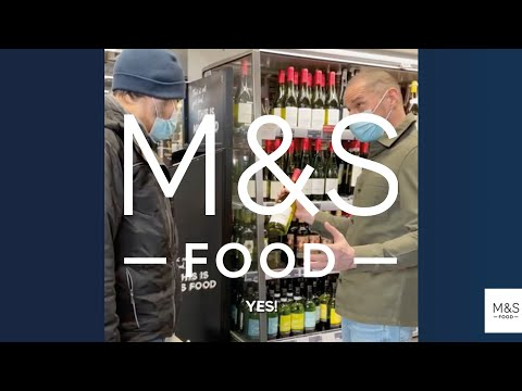 A taste of Fred Sirieix (and our Classic Chilean Sauvignon Blanc)...   WINE OF THE MONTH   M&S FOOD