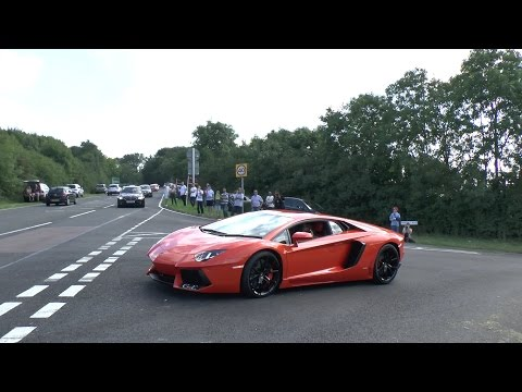 Loud Supercars Leaving Excell Auto Doovi