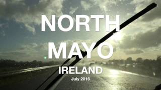 North Mayo, Ireland - Campervan Camping - Jul 2016