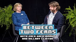 Between Two Ferns With Zach Galifianakis: Hillary Clinton(Subscribe now: https://www.youtube.com/c/funnyordie?sub_confirmation=1 More Between Two Ferns: ..., 2016-09-22T14:00:04.000Z)