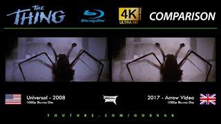 Blu-ray Versus - The Thing (2008 vs 2017)